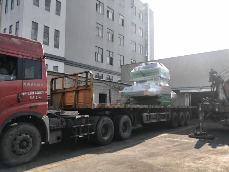 CNC Bilateral Automatic Feeding Hydraulic Cutting Machine Shipped to Huizhou