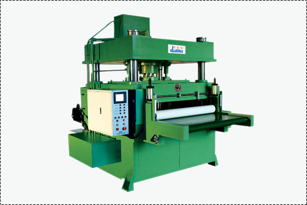 Automatic Feeding Cutting Machine For Rubber,Leather,Car Accessories DLC-9A-1
