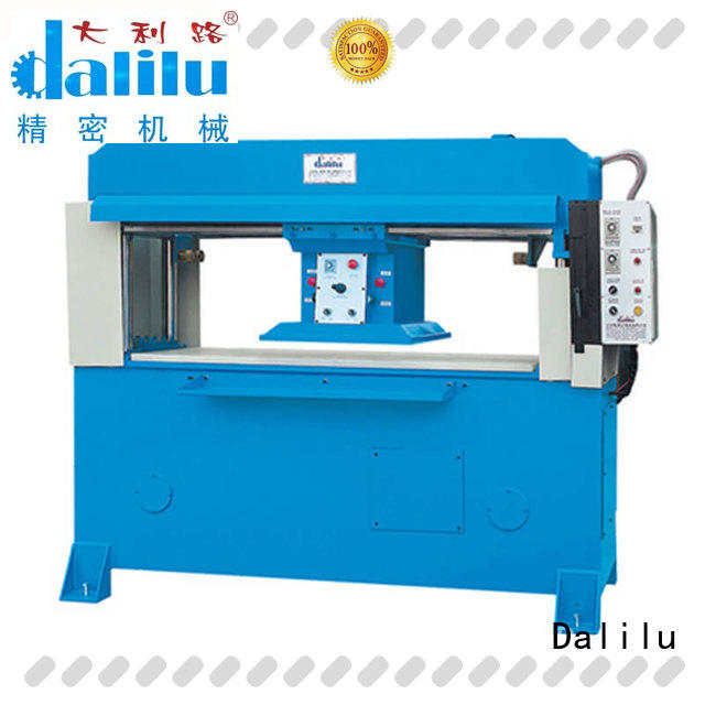 top quality rubber cutting machine dlcy03 factory price for plastic lunch boxes