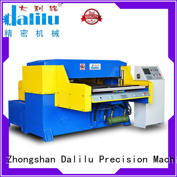 Dalilu top quality best cutting machine manual for plastic lunch boxes
