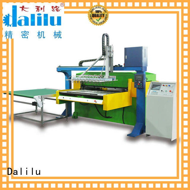 Dalilu hydraulic packing cutting machine with good price for packaging