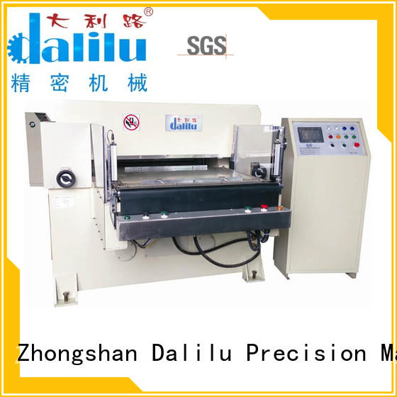 Dalilu hydraulic hydraulic press die cutting machine factory price for electronics
