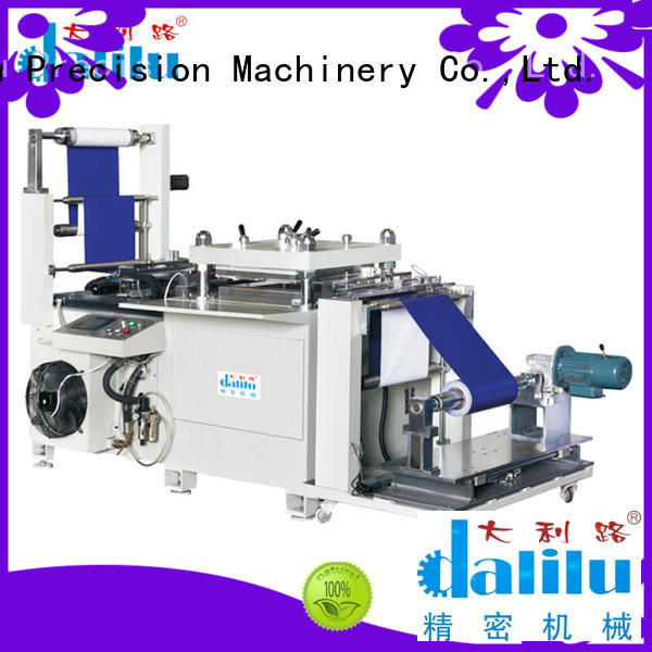 Dalilu safe rubber cutting machine wholesale for flexible plastic packaging