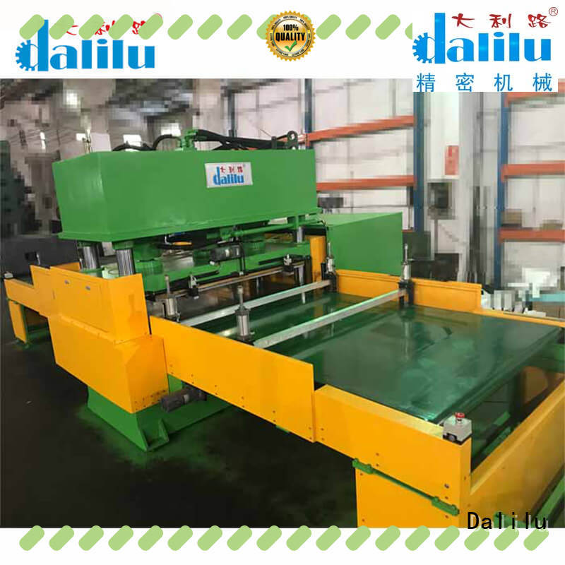 Dalilu sound automatic die cutting machine from China for seal ring