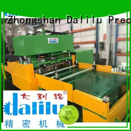 Dalilu machine die cutting press factory price for rubber belt