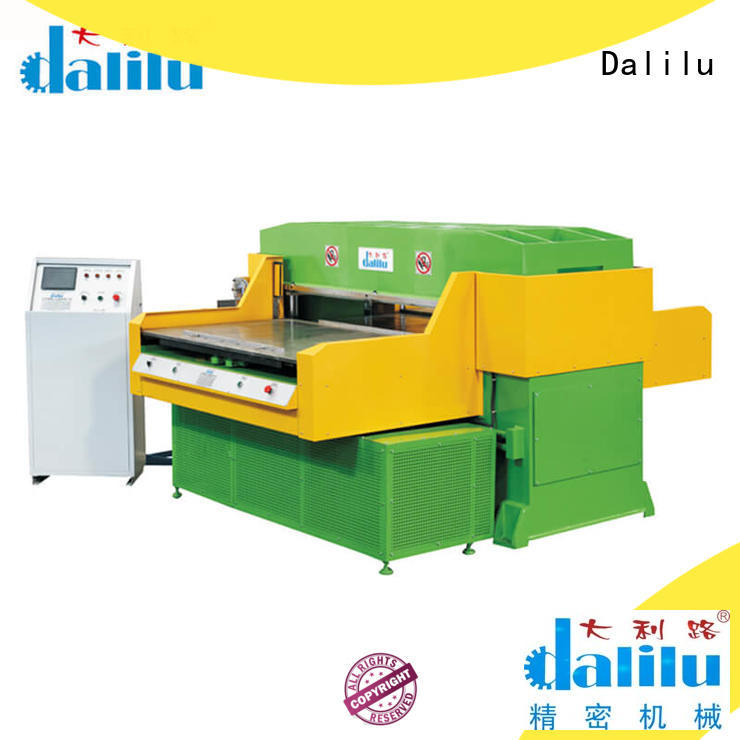 Dalilu cost-effective plastic cutting machine personalized for plastic lunch boxes
