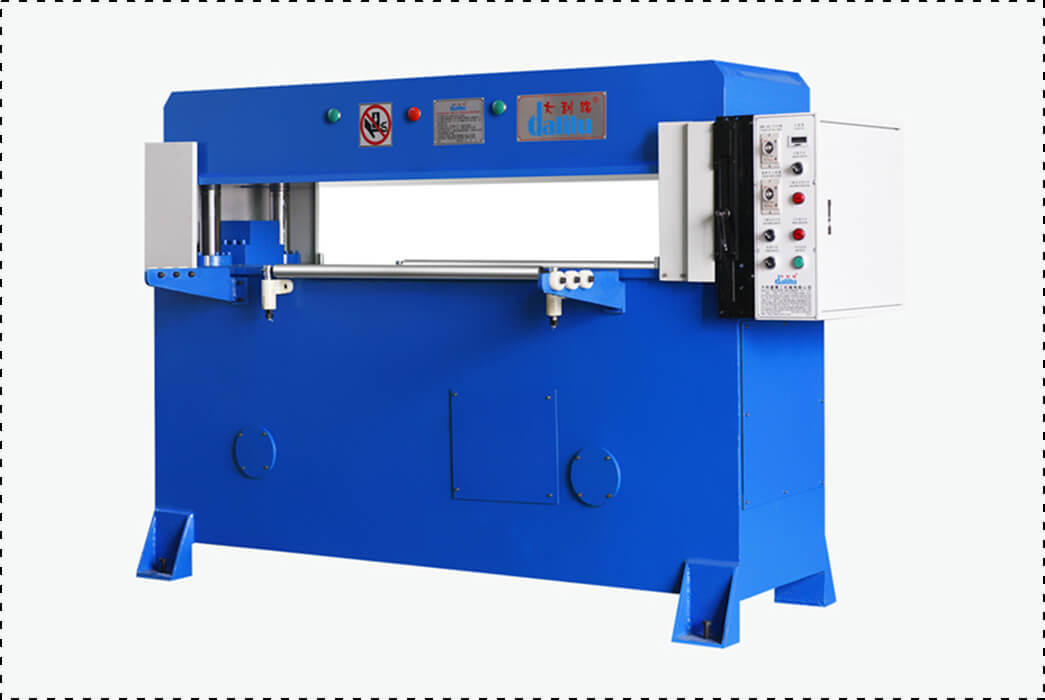Dalilu feeding automatic die cutting machine supplier for sealing strips