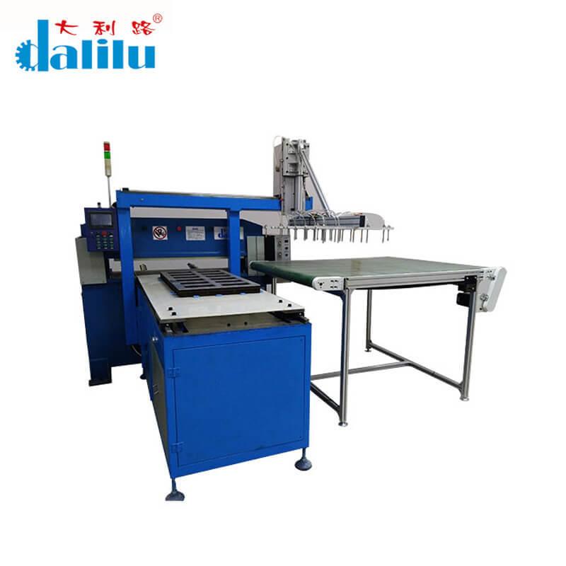 Precision Four Automatic Balance Car Interior Hydraulic Cutting Machine DLC-8