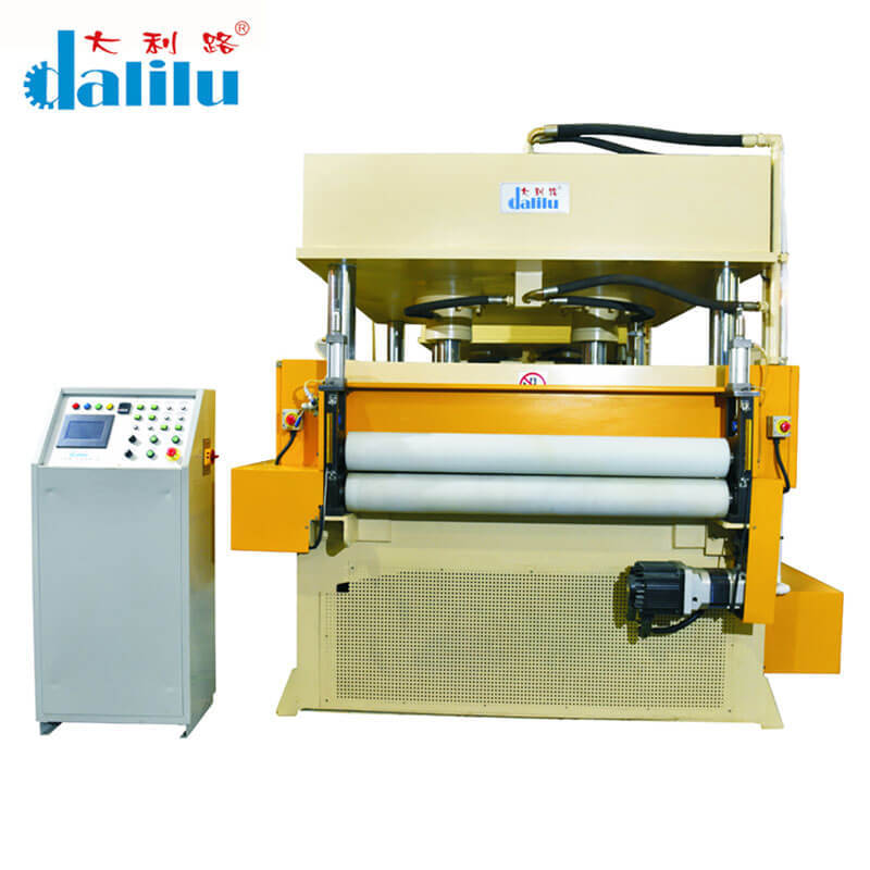 Automatic Feeding Cutting Machine For Rubber DLC-9A
