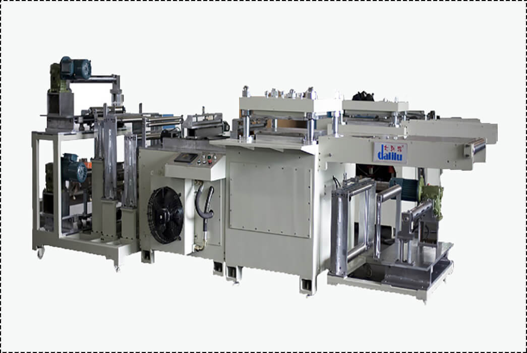 hydraulic press machine film pvc foil Dalilu Brand company