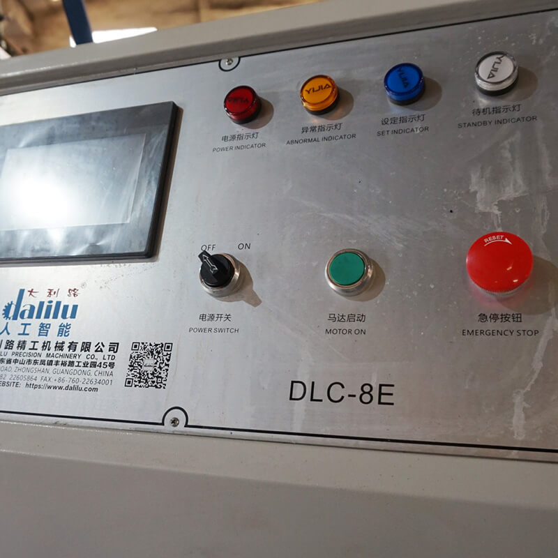 Dalilu efficient plastic die cutting machine personalized for flexible plastic packaging-4