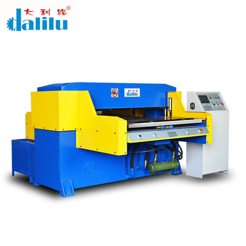 CNC Bilateral Automatic Feeding Hydraulic Cutting Machine For EVA DLC-8E