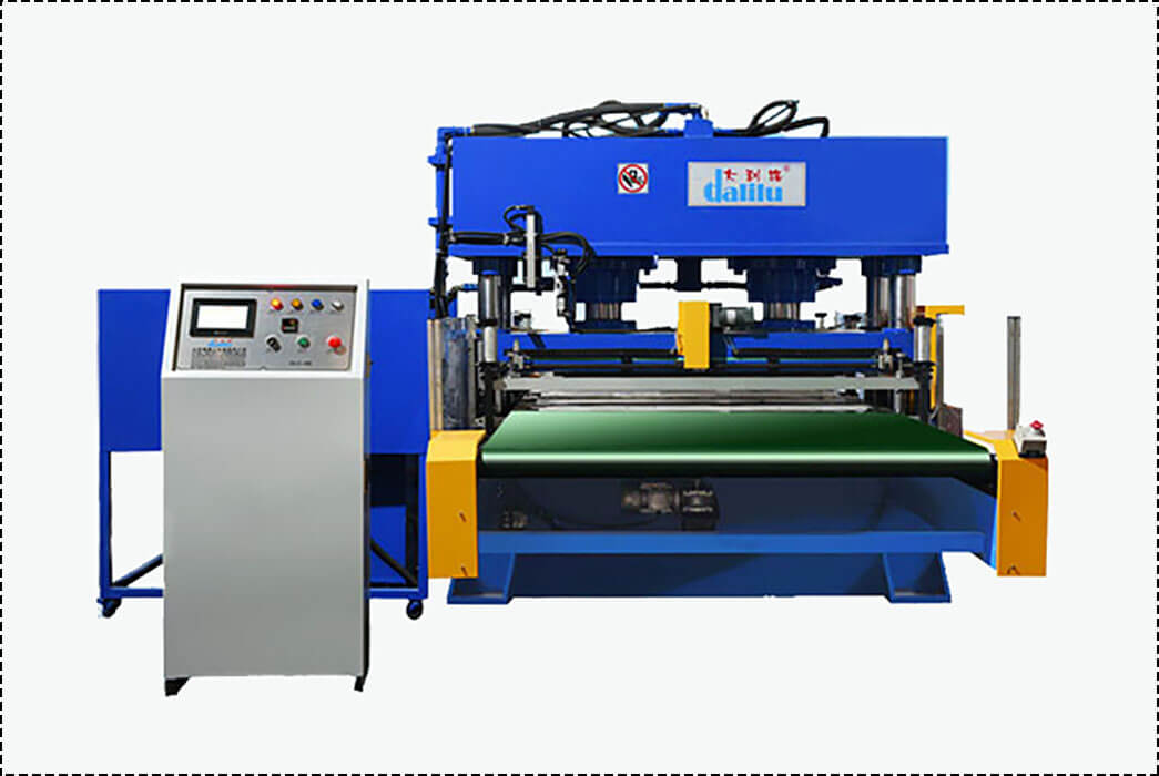 Dalilu-Large Die Cutting Machine Automatic Conveyor Belt Feeding Type