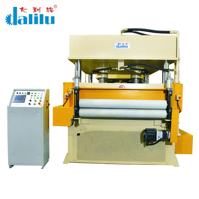 Dalilu-Automatic Feeding Cutting Machine For Rubber,Leather,Car Accessories DLC-9A