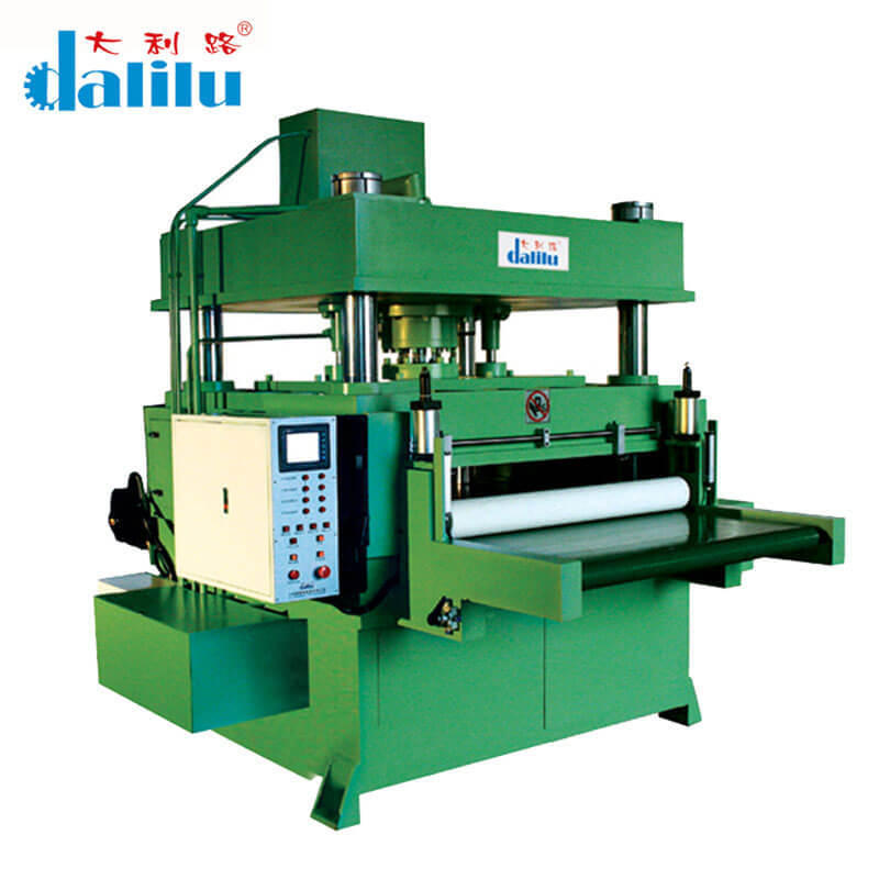 Automatic Feeding Cutting Machine For Rubber,Leather,Car Accessories DLC-9A