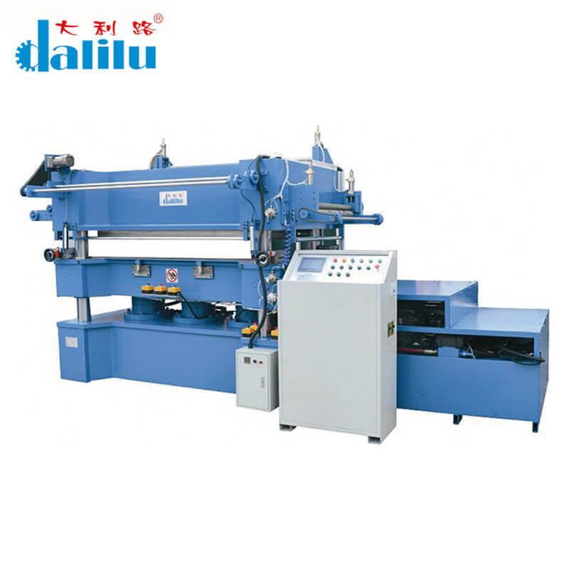 CNC Automatic Unilateral Feed Roller Hydraulic Stamping Machine DLC-9ME