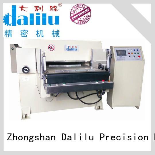 Dalilu automatic hydraulic die press machine design for foil