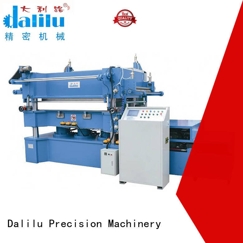Dalilu automatic gilding press machine from China for advertising