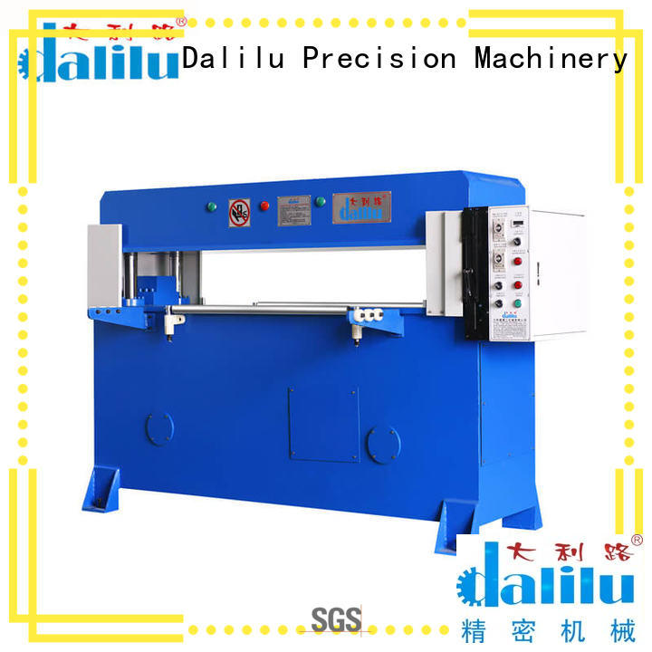 Dalilu leather car leather cutting machine factory price for dust cover