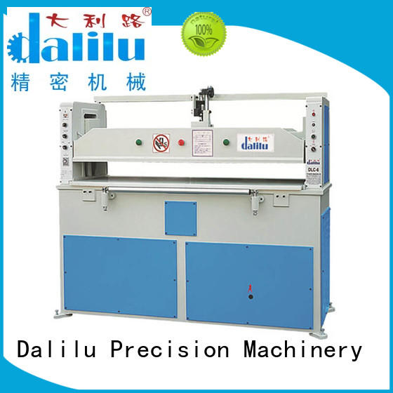 Dalilu column large die cutting machine factory price for wallets
