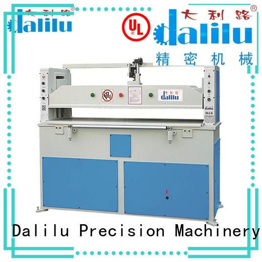 Dalilu balance clicker press die cutting machine design for furniture