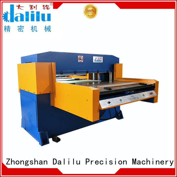 professional automated cutting machine dlc8e from China for rubber belt