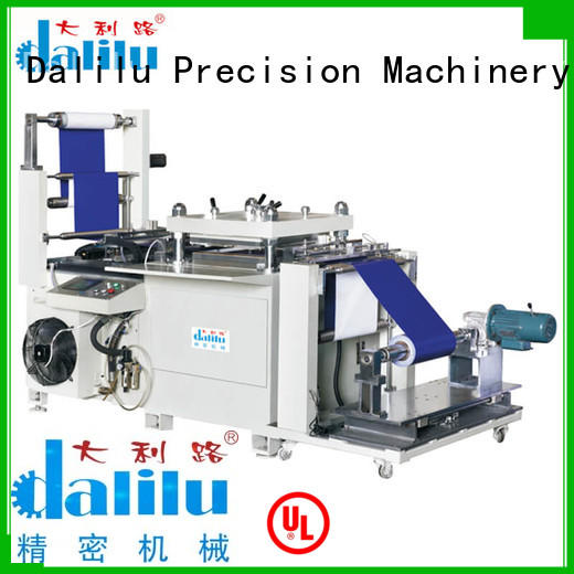Dalilu rubber plastic cutting machine factory price for woven bags