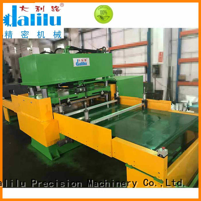 Dalilu insulation automatic die cutting machine supplier for seal ring