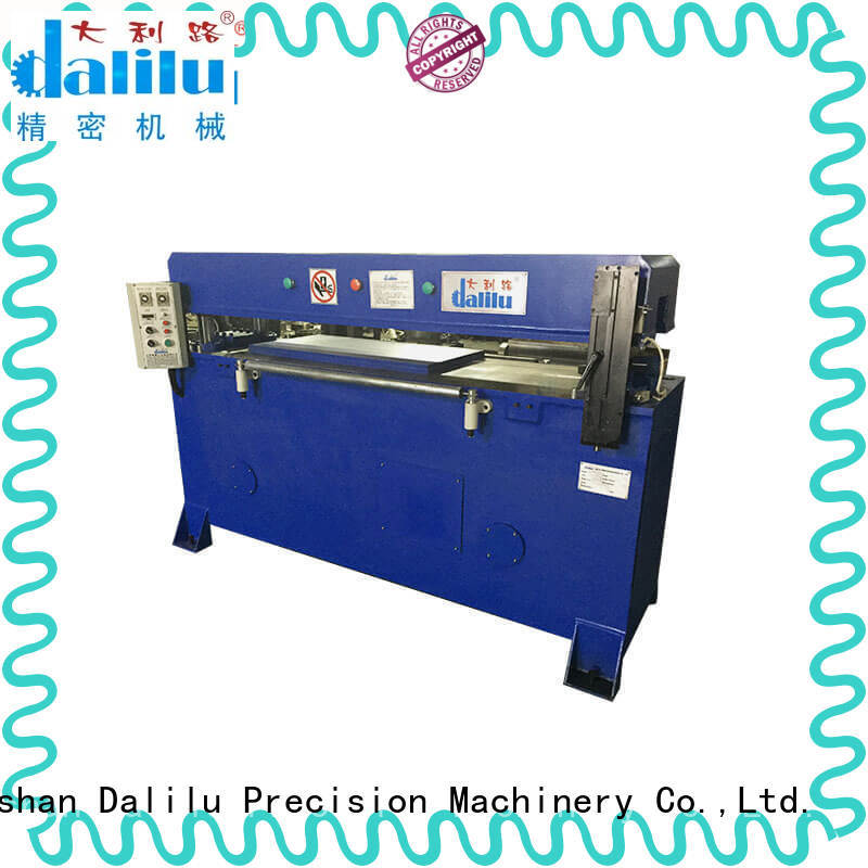 Dalilu customized large die cutting machine on sale for wallets