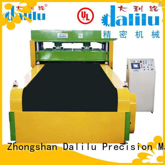 Dalilu hydraulic sponge cutting machine directly price for factory