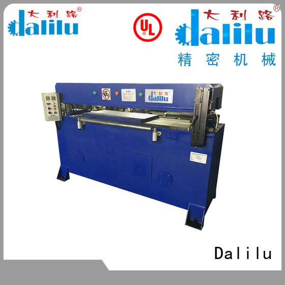 stable automatic leather cutting machine dlc8 design for wallets