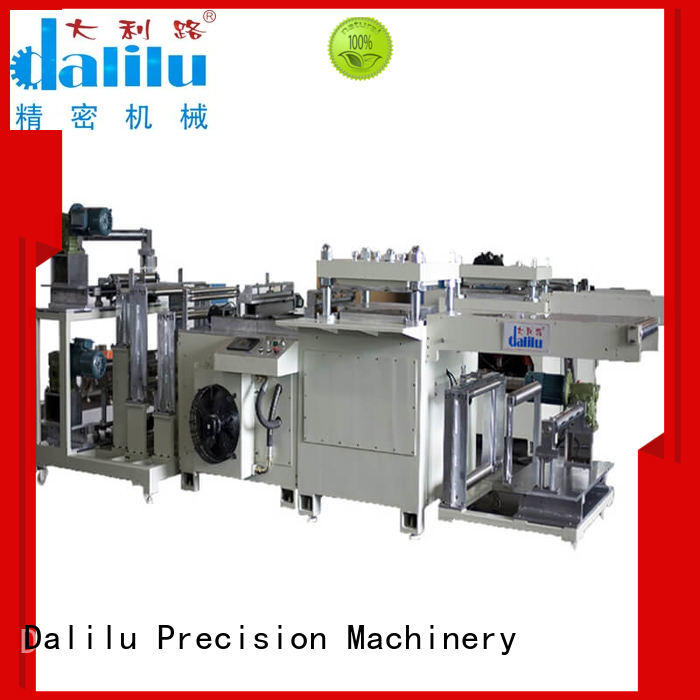 precise material die cutting machine dlcy01 on sale for mobile phone pad