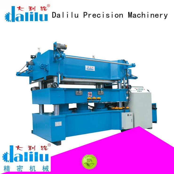 Dalilu roller gilding press machine online for packaging