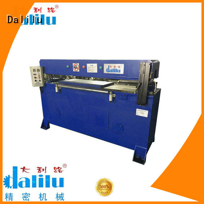 Dalilu durable automatic cloth cutting machine on sale for car cushions