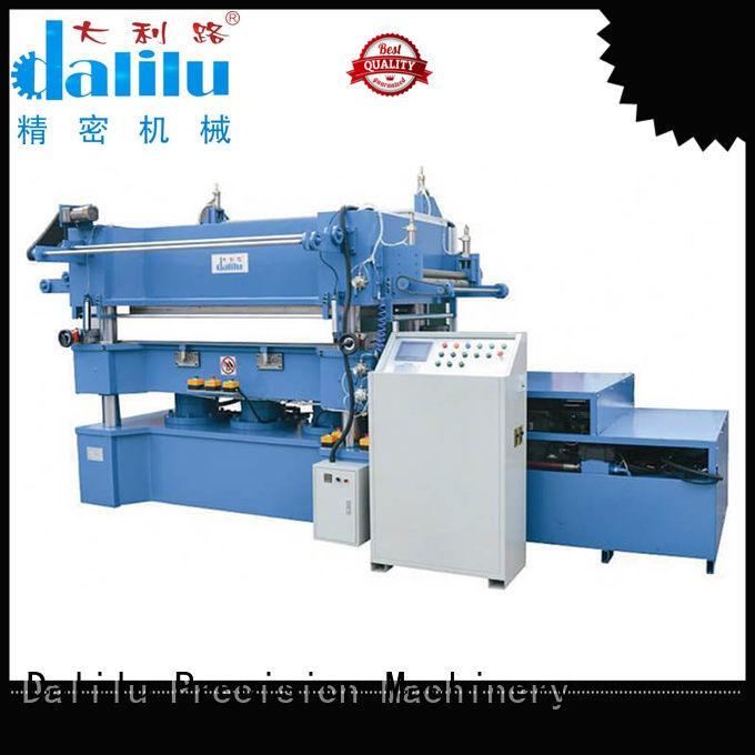 Dalilu multi function paper roller stamping machine dlc9m for calendars