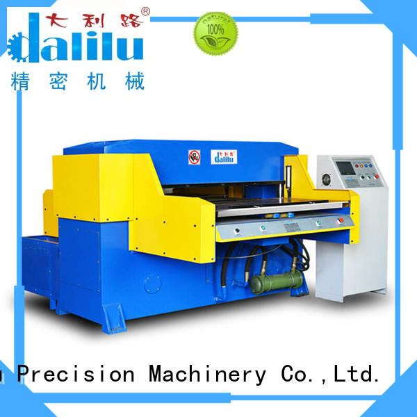 Dalilu top quality automatic rubber cutting machine factory price for flexible plastic packaging