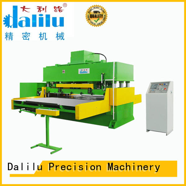 Dalilu cotton automated cutter factory price for rubber belt