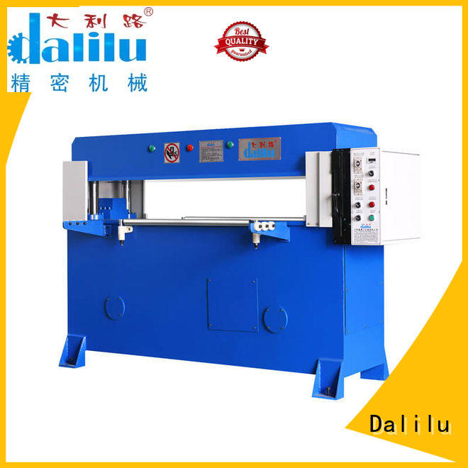 Dalilu professional leather die cutting machine factory price for dust cover