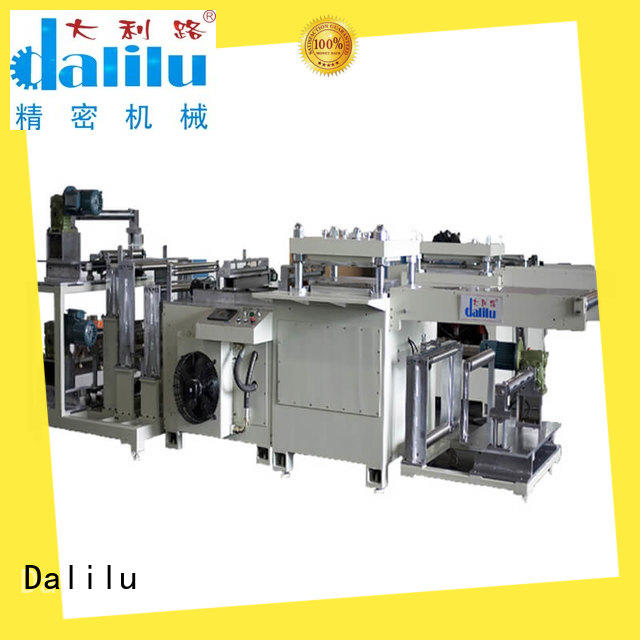 efficient hydraulic press die cutting machine protective on sale for foil
