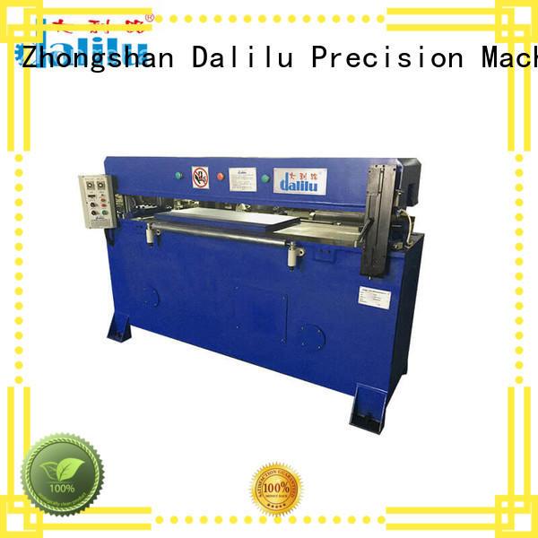 Dalilu column cloth cutting machine supplier for belts