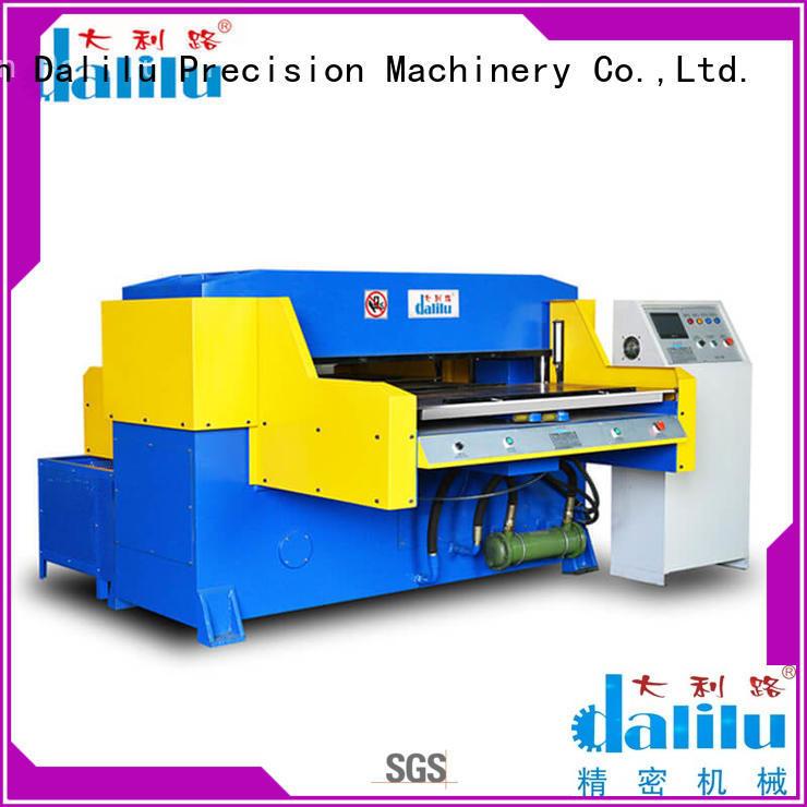 CNC Bilateral Automatic Feeding Hydraulic Cutting Machine For EVA DLC-8E