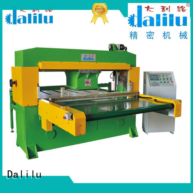 technical automatic leather cutting machine swing on sale for wallets