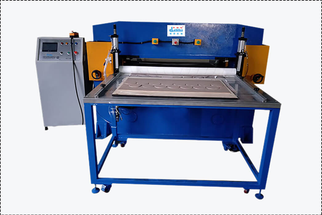 Dalilu cutting sponge cutting machine directly sale for workshop-1