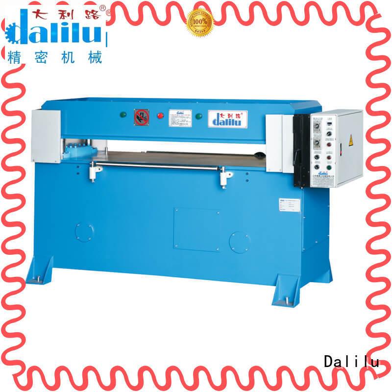 Dalilu precision plastic cutting machine supplier for plastic bags