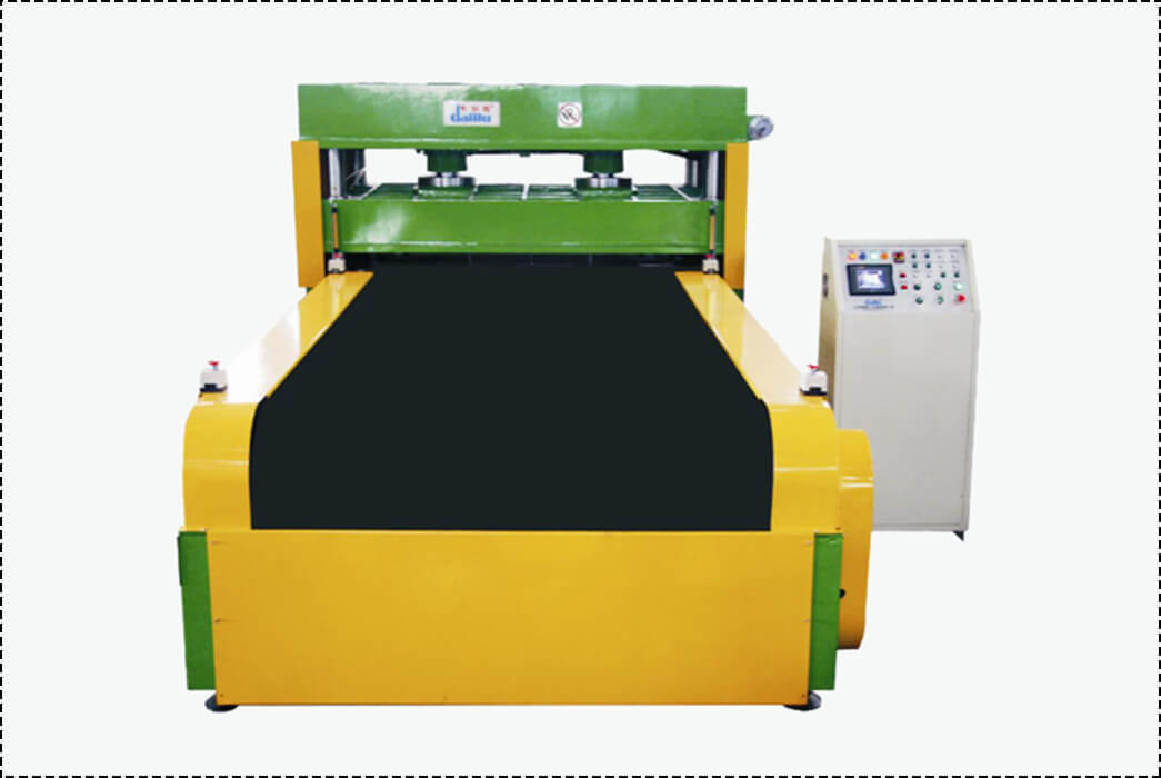 Hydraulic Feeding Die Cutting Machine For Sponge DLC-9C-1