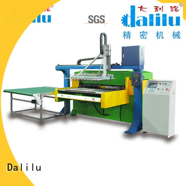 Dalilu hydraulic packing cutting machine design for carton