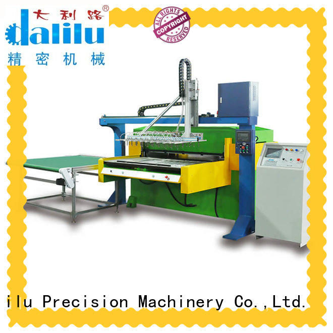 Dalilu good quality packing cutting machine factory for box