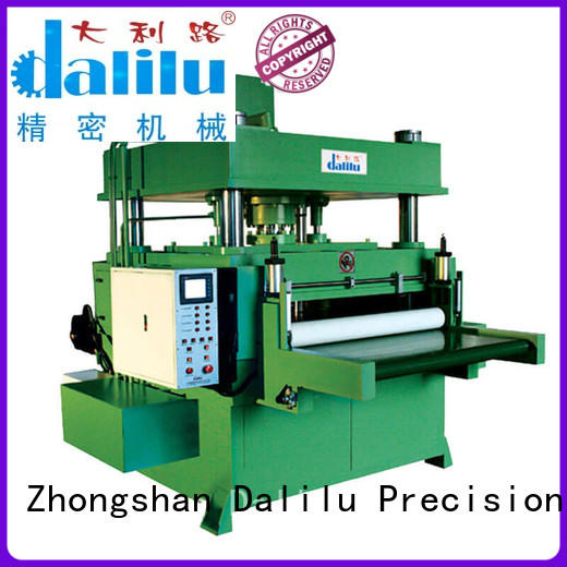 car leather die cutting machine from China for rubber belt Dalilu