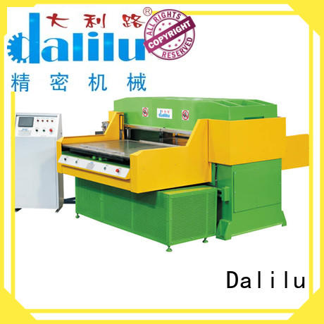 Dalilu gantry automatic rubber cutting machine factory price for woven bags