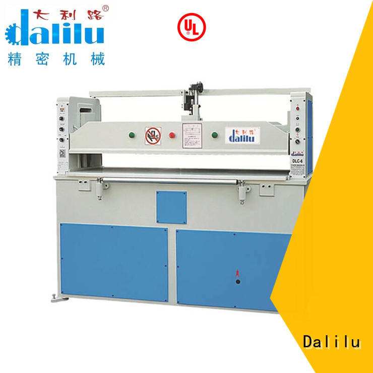 Dalilu dlc1 automatic leather cutting machine design for shoes